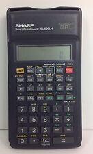 SHARP EL-509HL Scientific Calculator with cover Advanced DAL Works!
