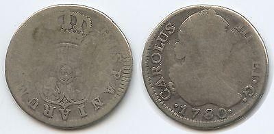 G8899 - Spanien 2 Reales 1780 KM#412.1 Carlos III.1759-1788 Spain España
