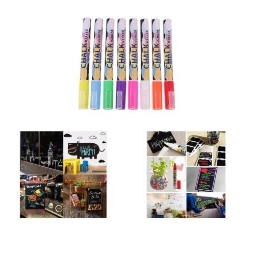 fluoreszierende Kreidemarker-Stifte für Tafelfenster mit LED-Glas