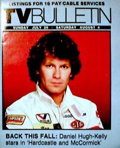 TV-Guide-1984-Hardcastle-amp-McCormick-Regional-TV-Bulletin-OC-Vintage-VG-COA