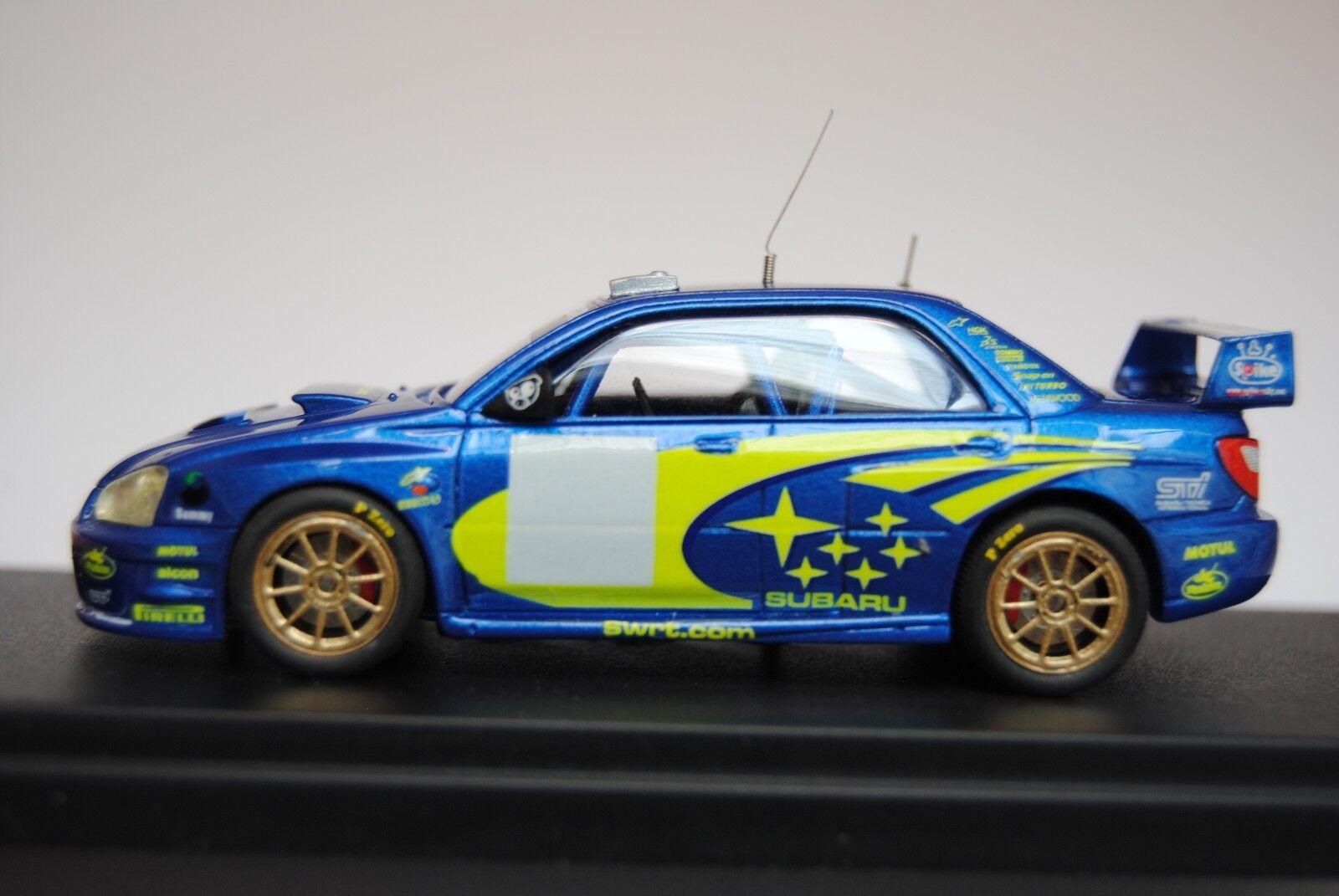 SUBARU IMPREZA WRC presentazione 2003 - Provence Moulage - built