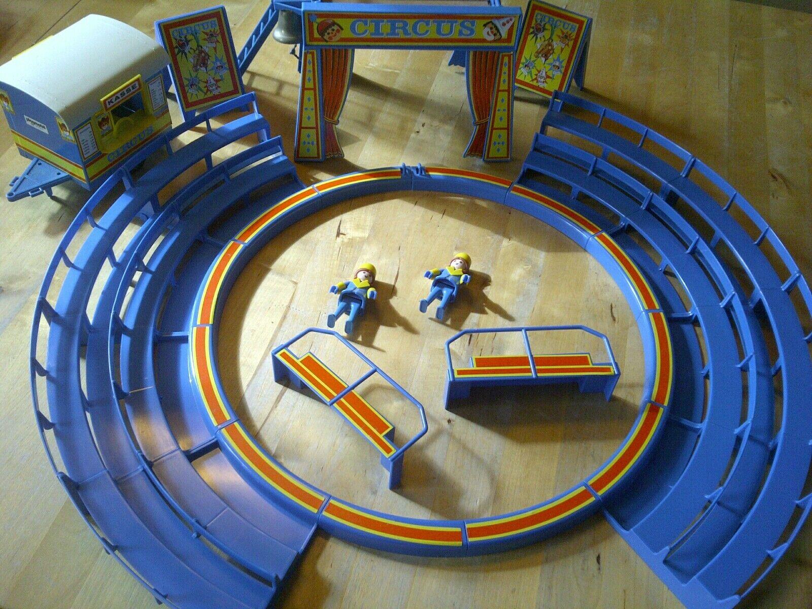 Playmobil 3510 Klicky Zirkus, Figuren, Pferde, Hunde, Cniedrigns etc., gebraucht