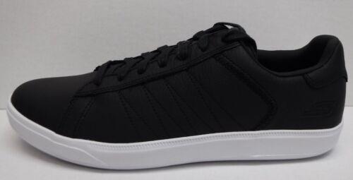 191665540359 Nouvelles Max 11 En Chaussures Skechers Goga Hommes Taille Baskets Noires Cuir PFwgxq67