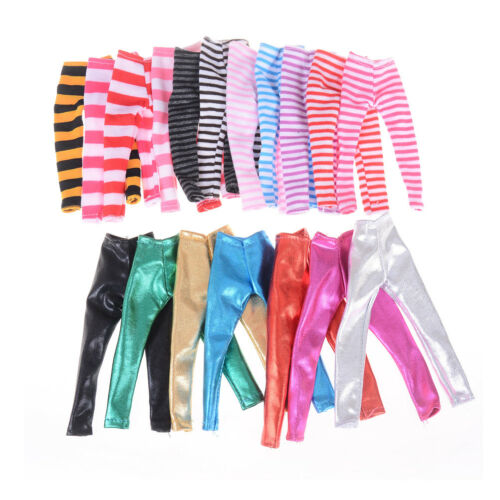 3X Fashion Colorful Ranbow Pants for Doll for ES