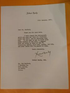 Robert-Hardy-actor-typed-letter-signed-8x11-5-034-in-034-Harry-Potter-034-fame