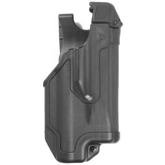 negroHawk Epoch Funda nivel 3 Negro Mate se ajusta Glock 17 22 31 44E000BK-R diestro