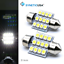 thumbnail 3 - Syneticusa 20x Combo LED Car Interior Dome Map Door License Plate Lights White