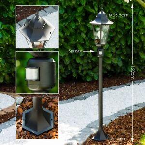 Garten Stehlampe Mit Bewegungsmelder Aussen Steh Leuchte Laterne