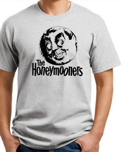 Honeymooners T-shirt.Gray,Khaki,White,Yellow S-XXXL Free Ship to USA