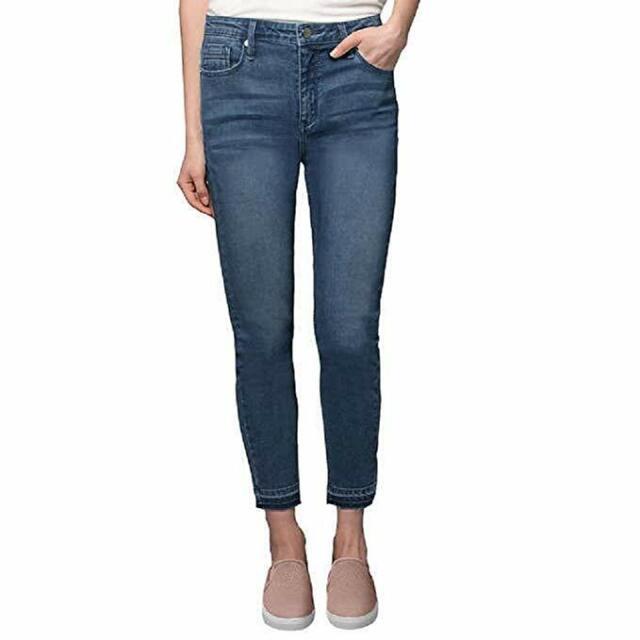 Size 12 Black Kenneth Cole New York Jess Skinny Jeans
