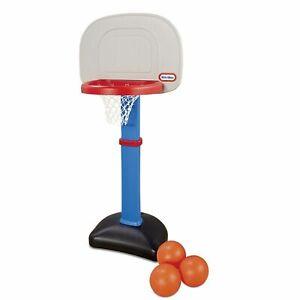 "Little Tikes Easy Score Basketball Set w/ 3 Balls Totsports 1 1/2"" to 5 Yrs NEW"