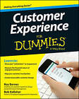 Customer Experience For Dummies by Roy Barnes, Bob Kelleher (Paperback, 2014)
