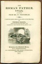 """The Roman Father"", A Tragedy by W. Whitehead, London, 1815"
