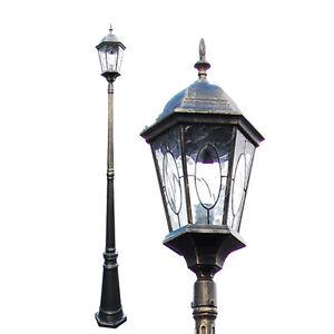 single light exterior outdoor lamp post pole lighting antique tp0029mvf pl005 1. Black Bedroom Furniture Sets. Home Design Ideas
