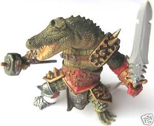 Image Is Loading CROCODILE MAN FANTASY WARRIOR FIGURE FROM PAPO BRAND