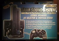 Intec 2d Game Sound System For Playstation 2 Add A Blast To Games, Cd's & Dvd's