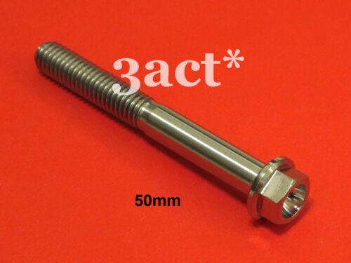 Titanium Ti M6 x 10 15 18 20 25 30 35 40 45 50 55 60 65mm Bicycle Bolt Screw 1pc