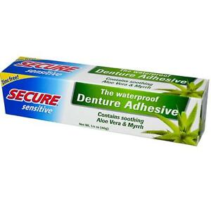 Secure-Sensitive-Waterproof-Denture-Adhesive-40g-X-6-Tube