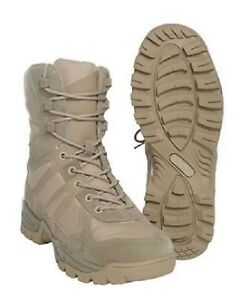 Freizeit Gr Army Boots Tactical Outdoor Khaki 43 Lightwight Stiefel Lwh qRXHwx68U