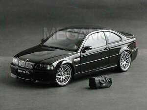 1 18 Kyosho Bmw E46 M3 Csl 2003 Black W Bag Bbs Carbon Roof Rare