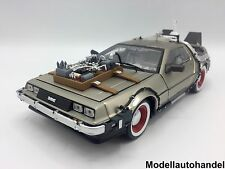 DeLorean DMC-12 Time Machine Back to the Future III   - 1:18 Sunstar