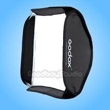 Godox 60x60cm Softbox Bag Kit for Studio Flash Speedlite fit Bowens Elinchrom