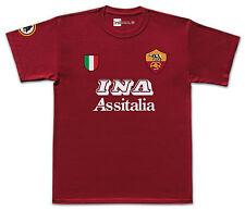 Roma 2001 INA No.10 Totti retro T-shirt size Medium