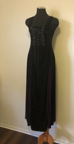 Cykxtees Velvet Medieval Dress Cottage Victorian 7