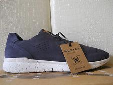 Munich A-Noia Elite scarpe uomo sneakers 100%Pelle Nubuck Blu tg.41 EU €126,50