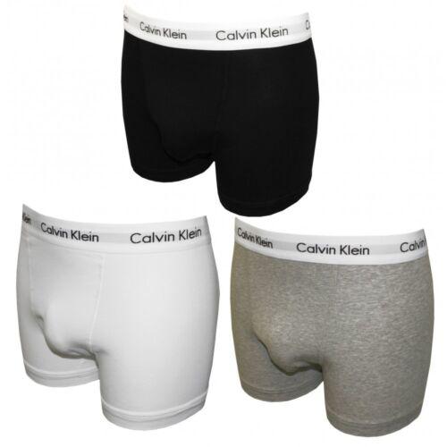 de homme boxers Cotton Klein gris Calvin Stretch noir 3 blanc pour Lot dwRId