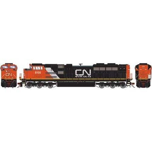 Athearn ATHG68891 HO SD70ACe CN 8100 Locomotive w DCC & Sound