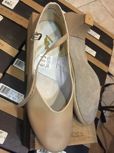 LEO's 6106 Women's Tan Jazz High Heel Pump Dance sz 8.5M-11M new LEO
