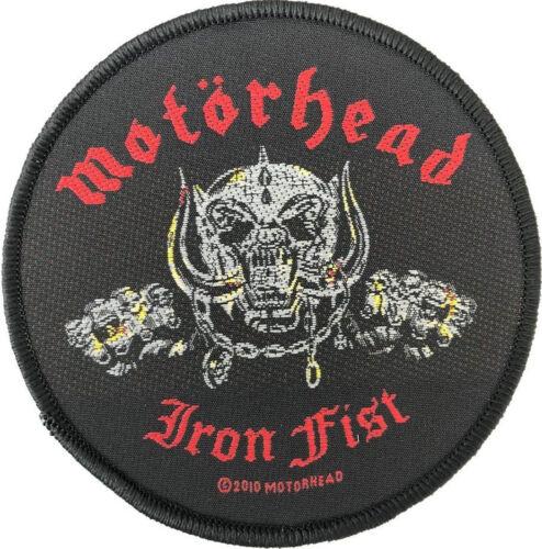 Iron Fist Patch 9cm Dia Motorhead