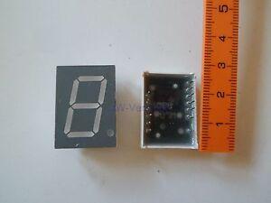 Avago-Technologies-HDSP-C8A3-7-Segment-Anzeige-LED-20-4mm-AlGaAs-Rot-2-Stueck