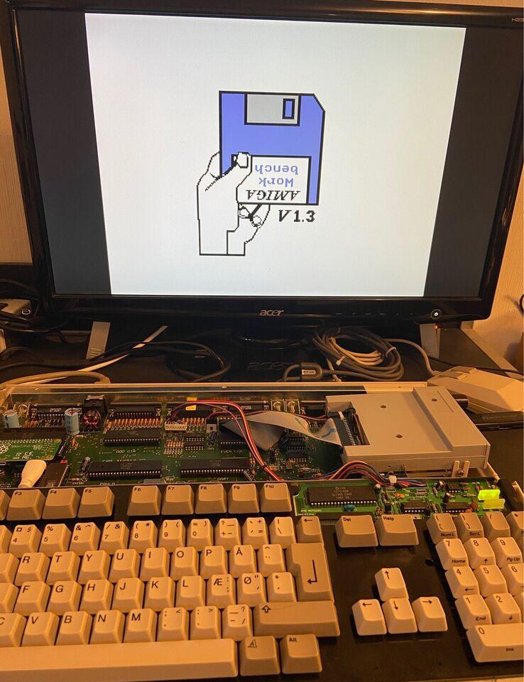 Rom Adapter til A500 Rev. 6, Amiga 500
