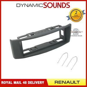 CT24RT02-Gris-Simple-Din-Adaptateur-Facade-Panneau-Plaque-pour-Renault-Megane