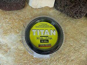 10-m-TITAN-EDELSTAHL-VORFACH-STAHLVORFACHER-KLEMMHULSEN-7kg-BIS-68kg-DIVERSE