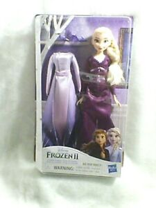 Nightgown /& Shoes NEW Disney Frozen 2 Arendelle Elsa Fashion Doll with Dress