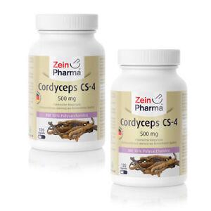 Cordyceps-CS-4-240-Kapseln-500mg-Cordyceps-Sinensis-Extrakt-Raupenpilz-Capseln