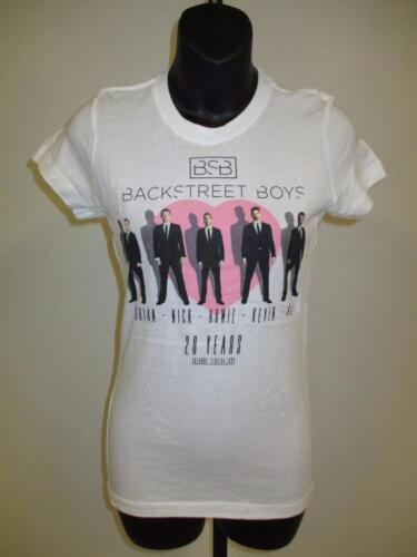 New Backstreet Boys 20 Years 2013 Tour Womens size XL XLarge Concert Band Shirt