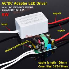 Mini Ac Dc Converter Led Driver Adapter Ac 110v 120v 220v 230v To Dc 12v 05a 6w
