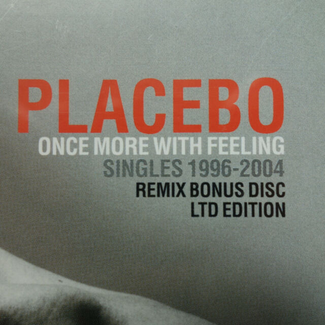 PLACEBO  Once More With Feeling  Singles 1996-2004 2-CDs incl. Remix Bonus Disc
