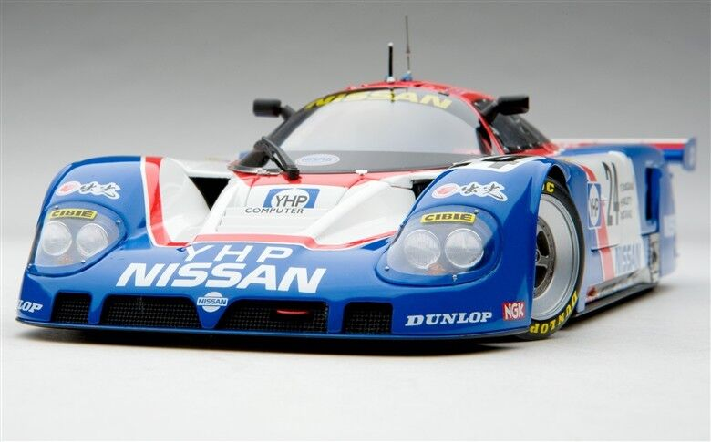 1 18 EXOTO Nissan R89C 1989 Le Mans 24 Hours  Bailey Blundell Donnelly