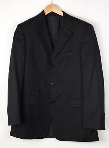 HUGO BOSS Herren da Vinci/Lucca Wolle Formelle Jacke Blazer Größe 50 - M ASZ209
