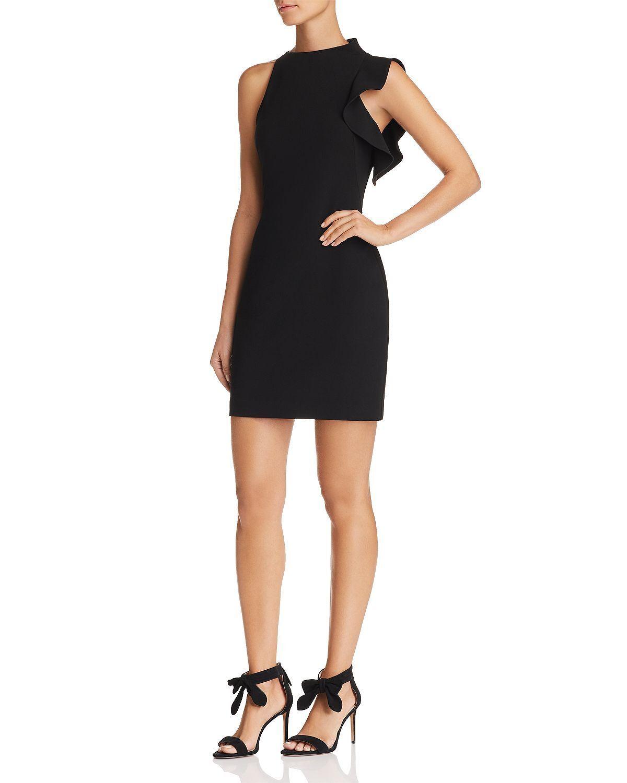 NWT schwarz Halo Woherren Pabla Mini Dress schwarz Größe 6