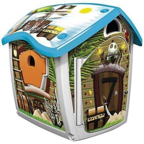 Injusa 2034 - Spielhaus Magic Farbwechsel Spielhaus Pirat Kunststoff  NEU