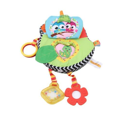 Baby Cloth Book Toys Toddler Early Education Toys AnimaIs Interactive Toys C