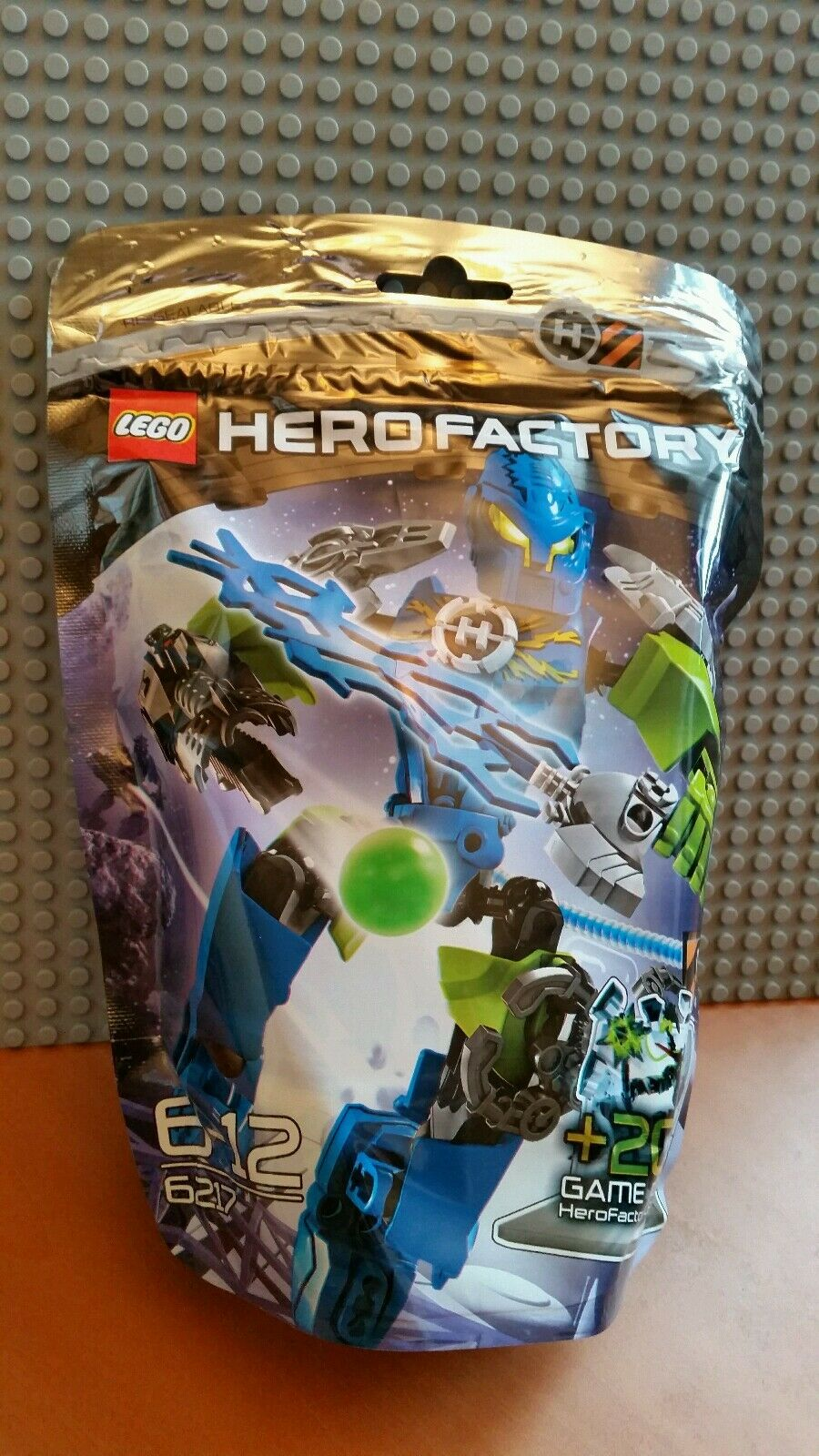 LEGO HERO FACTORY   6217 SURGE   RARE RETIRED   BNIP NEW✔SEALED✔ FAST P&P✔