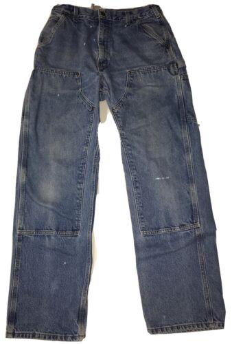 Vtg Carhartt Double Knee Work Pants Size 34/34 Wor