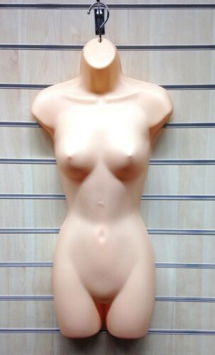 3//5 pcs HIGH QUALITY FULL HANGING FEMALE MANNEQUIN TORSO BODY FORM DISPLAY BUST